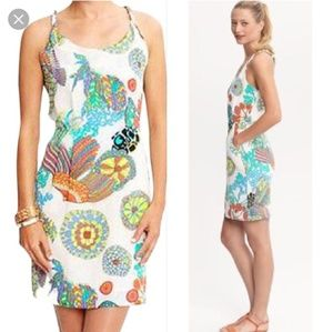 Trina Turk Banana Republic botanical mini dress 14